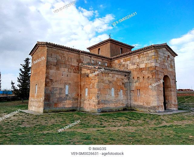 Visigothic church San Pedro de la Nave 7th century, Campillo, Zamora, Spain