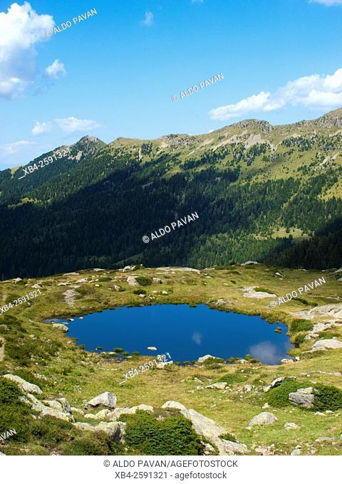 Lake, Lagorai mountain, Italy