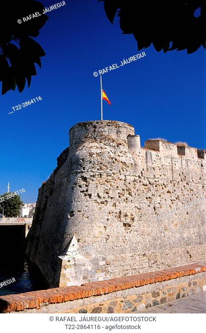 Ceuta (Spain). Royal Walls of Ceuta