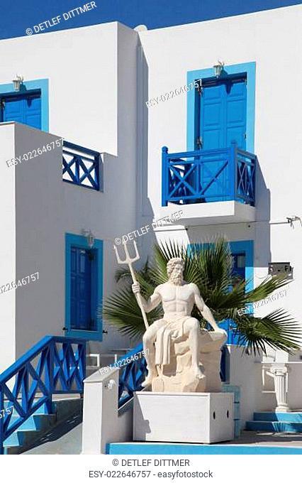 malerisches Appartementhaus in Griechenland