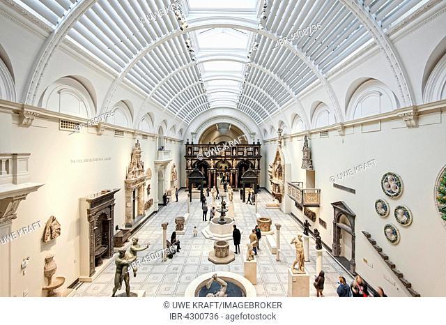 Victoria and Albert Museum, Kensington, London, England, United Kingdom