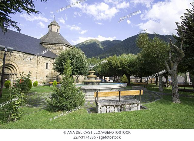 San Felix church Vilac village in Aran valley Lleida Catalunya Spain