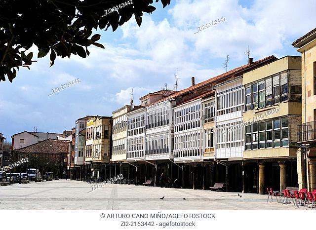 Main Square, Aguilar de Campoo, Palencia, Spain