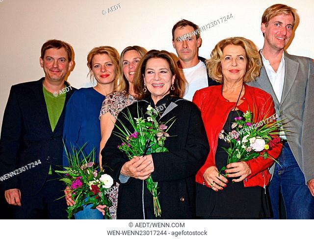 Familienfest premiere at Filmtheater Friedrichshain Featuring: Daniel Krauss, Joerdis Triebel, Nele Mueller-Stoefen, Hannelore Elsner, Marc Hosemann