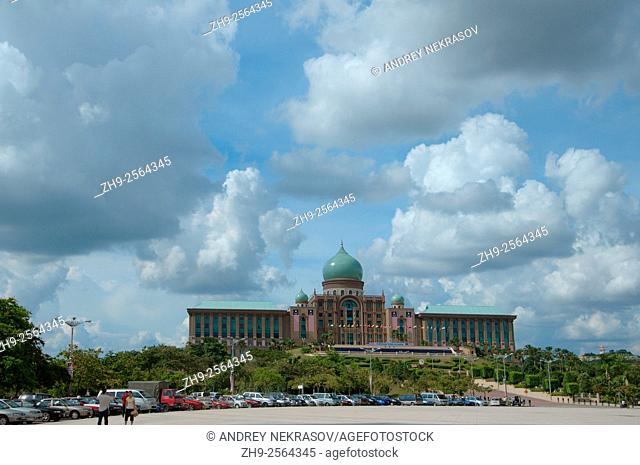 Prime Minister's office, Putrajaya the federal administrative centre of Malaysia, Putrajaya
