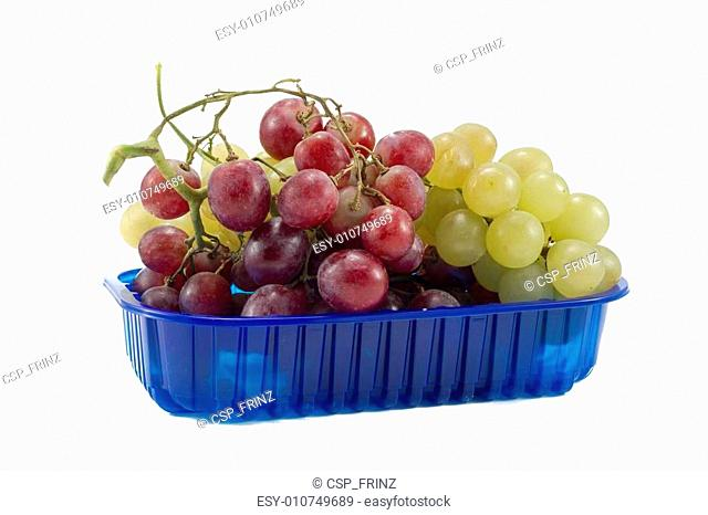 biological colorful mixed grapes