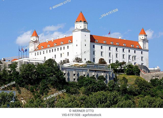 Slovak Republic, Slovakia, Bratislava, Capital City, Danube, Little Carpathians, Bratislava Castle on the castle hill, baroque - Bratislava, Bratislava