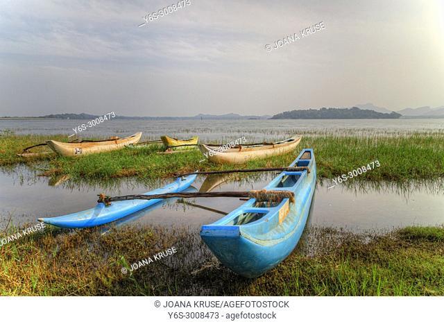 Kandalama Lake, Central Province, Sri Lanka, Asia