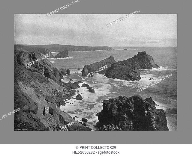 Old Lizard Head and Kynance Cove, c1900. Artist: Frith & Co