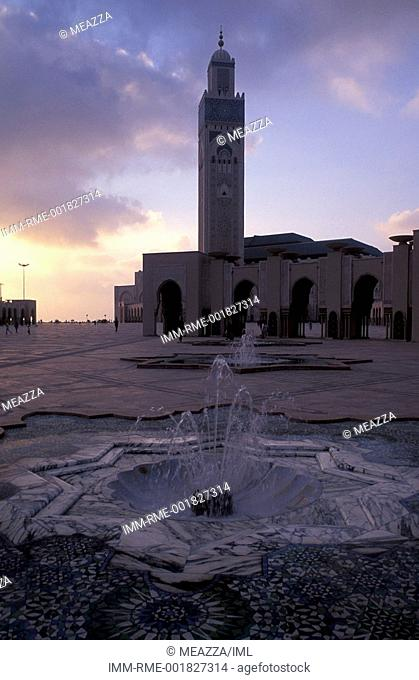Casablanca, The Grand Mosque of Hassan II , Morocco, Africa