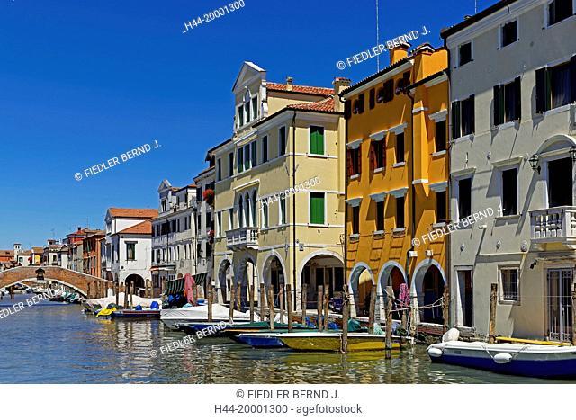 Chioggia, house line, typical