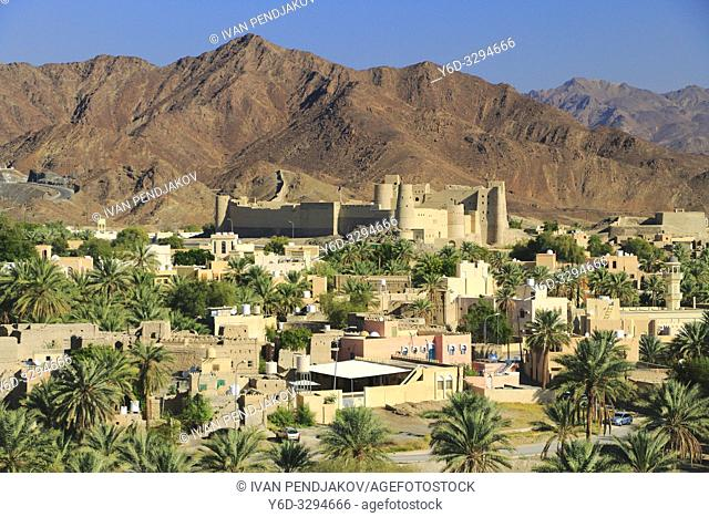 Bahla Fort and Al Hajar Mountains, Oman