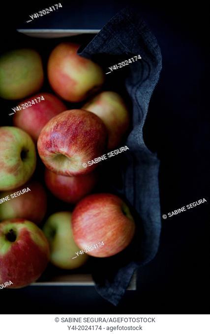 Apple pie recipe. Serie