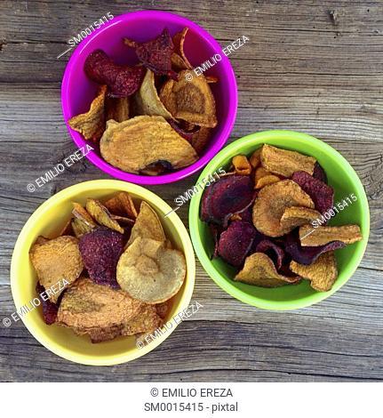 Chips of vegetables