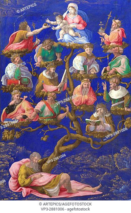 Girolamo Genga. Tree of Jesse . 1535. National Gallery - London