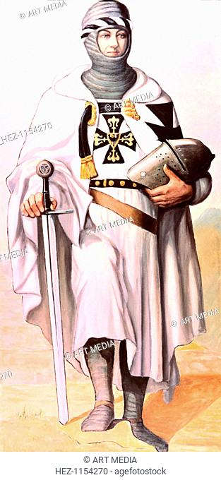 Knight of the German Order, Nazi Art, Germany. Private collection