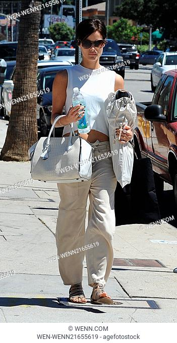Jaimie Alexander out and about in Studio City Featuring: Jaimie Alexander Where: Los Angeles, California, United States When: 28 Aug 2014 Credit: WENN