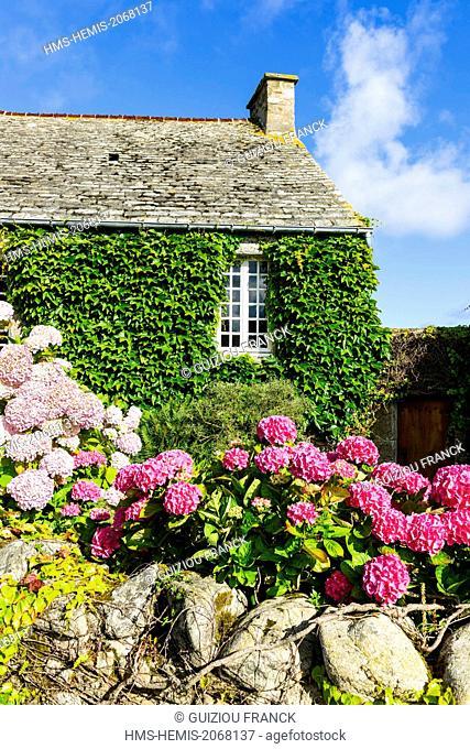 France, Manche, Cotentin, Cap de la Hague, Saint Germain des Vaux