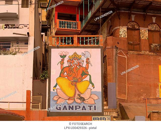 Varanasi, India - Picture of Buddha