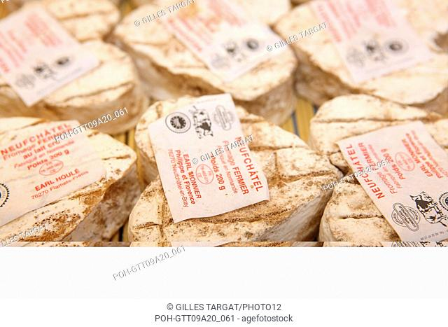 tourism, France, upper normandy, seine maritime, pays d'accueil touristique du pays de bray, gournay en bray, market, gastronomy, local products, cheese