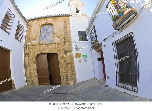 Casa Hospital de Santiago, Santiago Hospital House, Zafra, Badajoz, Extremadura, Spain, Europe