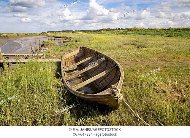 Morston North Norfolk Low Tide