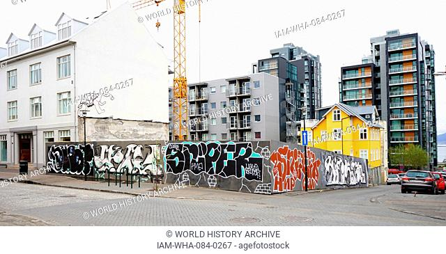 An example of graffiti within Reykjavik, Iceland. Dated 21st Century