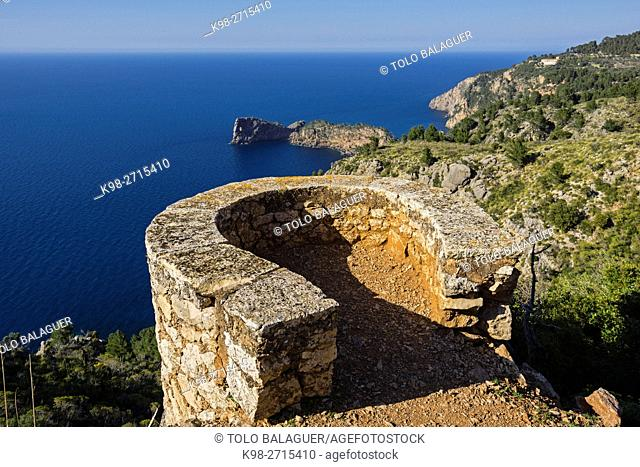 Sa Ferradura lookout, Miramar property, Valldemossa, Mallorca, Balearic Islands, Spain