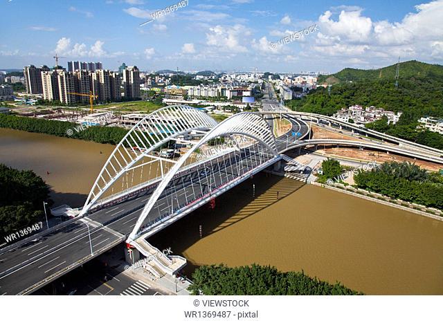 Jiangmen City, Guangdong Province , Donghua Bridge