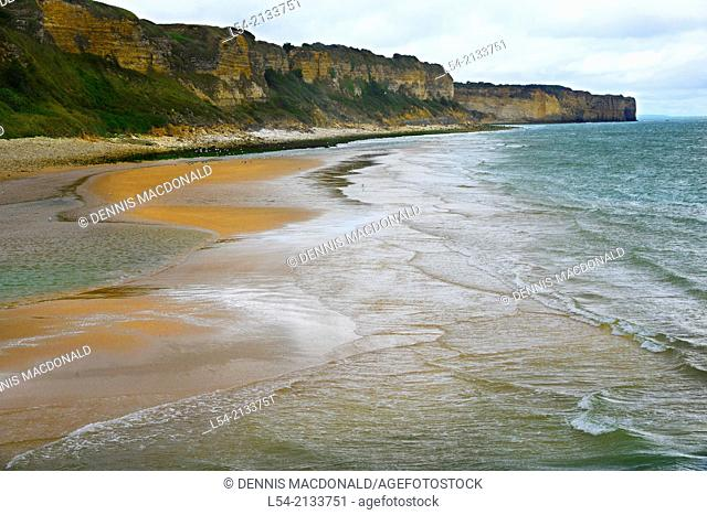 Omaha Beach Normandy American Cemetery France Colleville Sur Mer FR Europe WWII