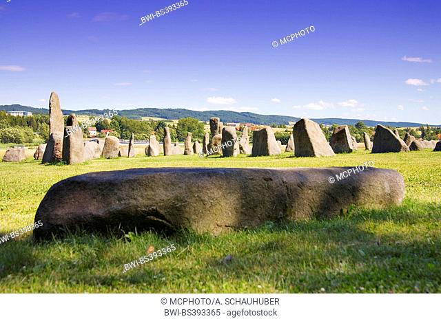 Granite blocks named Grosse Basilika, Austria, Lower Austria, Waldviertel, Waidhofen an der Thaya