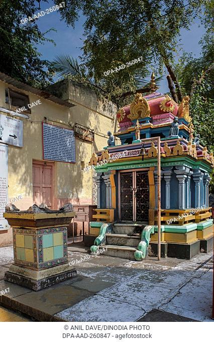 Shree Dakshin mukhi Hanuman, Siddheshwar Temple, Solapur, Maharashtra, India, Asia