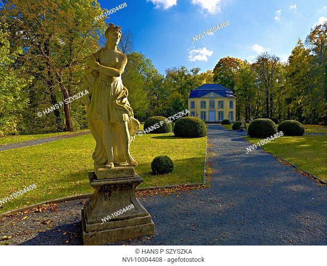 Sophie castle of Burgk Castle, Thuringia, Germany