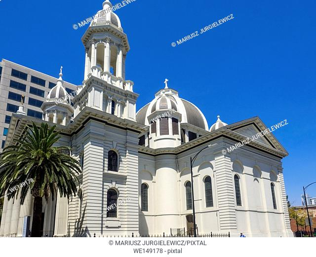 Cathedral Basilica of St. Joseph is a large Roman Catholic church located in Downtown San Jose