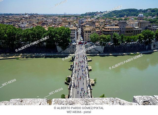 Sant Angelo Castle and Bridge, Vatican