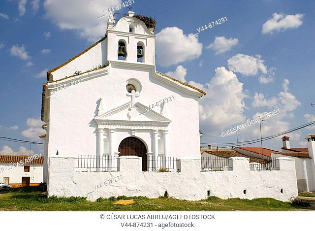 Church of San Ignacio de Loyola, El Pozuelo. Huelva province, Andalusia, Spain