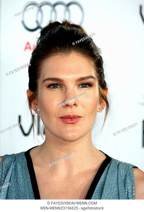 AFI FEST 2015 Presented By Audi Closing Night Gala Premiere of Paramount Pictures' 'The Big Short' - Arrivals Featuring: Lily Rabe Where: Hollywood, California