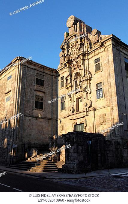 Convento de Santa Clara, Santiago de Compostela, La Coruña, Spain, Europe