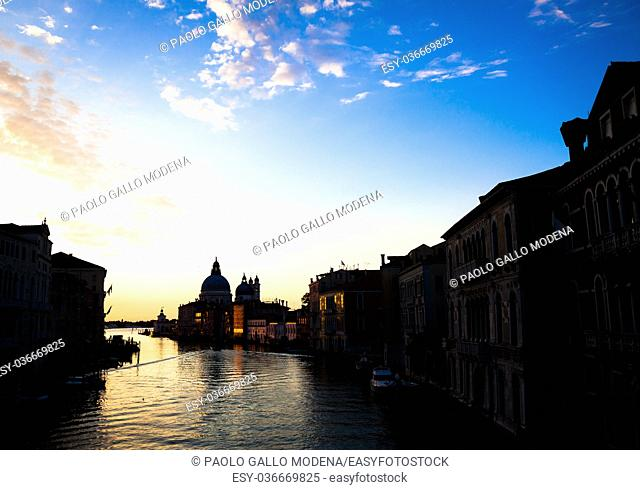 From the Accademia Bridge, one of the most spectacular point of view in Venice