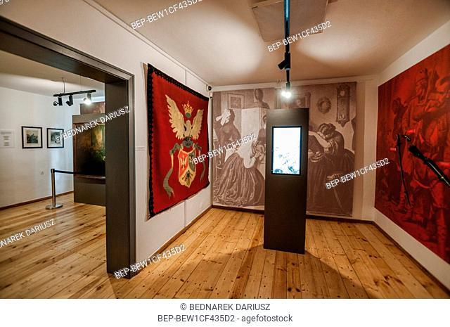 Museum of Polish Anthem in Bedomin, village in Pomeranian Voivodeship, Poland