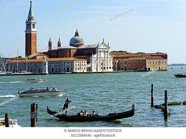San Giorgio Maggiore church. Venice, Italy