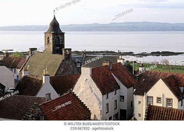 Culross. Scotland. UK