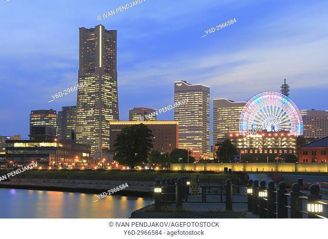 Yokohama at Dusk, Japan