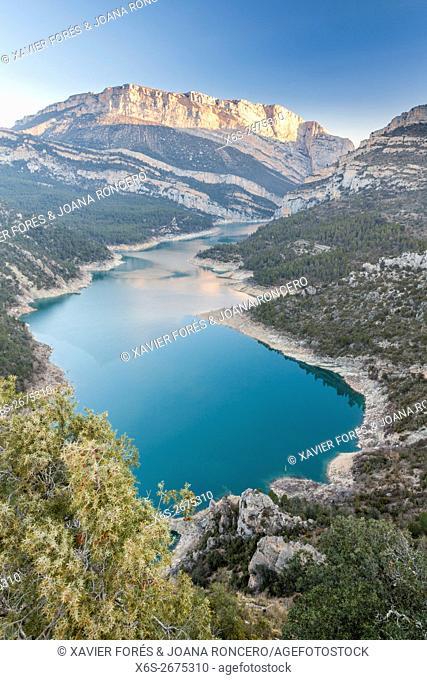 Congost de Montrebei, Serra del Montsec, La Noguera, Lleida, Spain