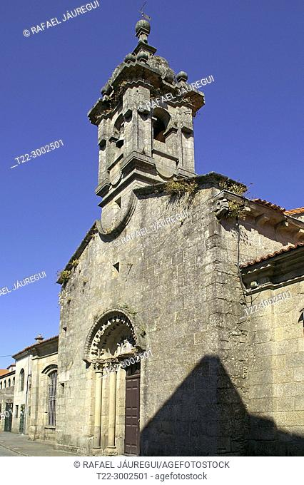 Santiago de Compostela (Spain). Church of San Fiz de Solovio in the historic center of Santiago de Compostela