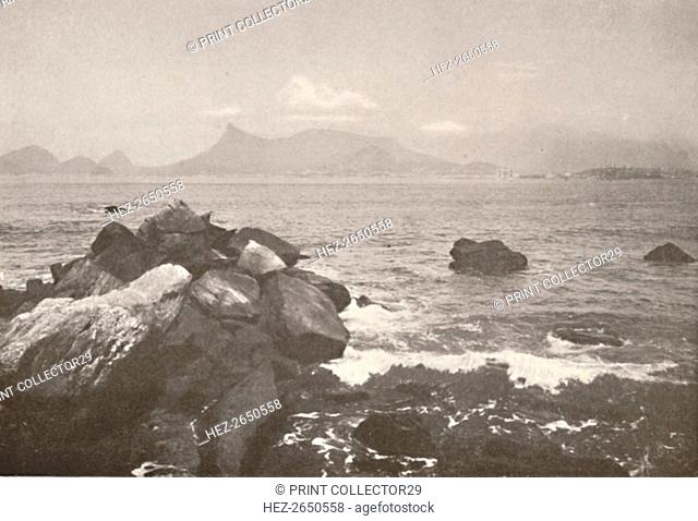 'The peaceful bay of Rio', 1914. Artist: Unknown
