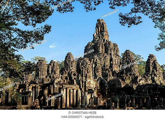Asia, Southeast Asia, asien, Cambodia, cambodian, Siem Reap, UNESCO, World Heritage, Angkor Thom, Bayon