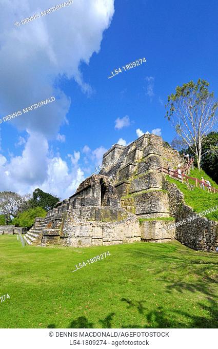 Altun Ha Mayan Ruins Belize City Central America