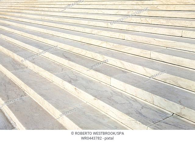Marble Steps of the Supreme Court