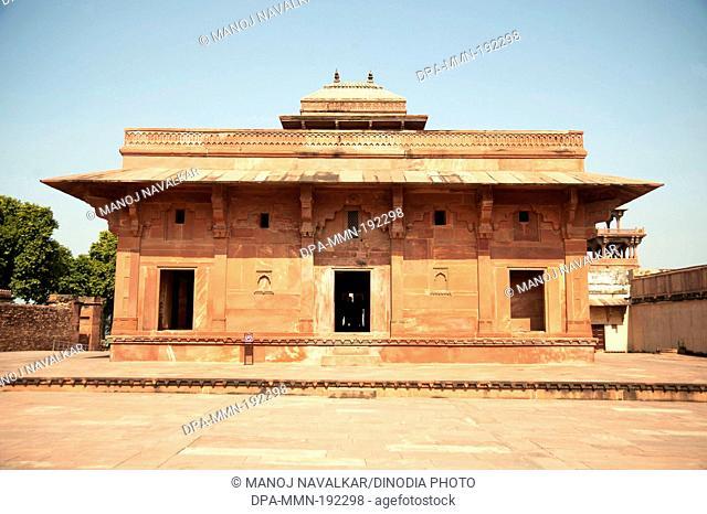 Jodha Bai Palace Fatehpur Sikri Agra Uttar Pradesh India Asia